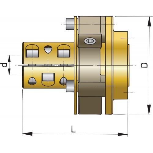 Bullflex kobling-1890