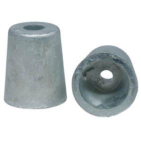 Propel zink konisk til 40mm aksel-0