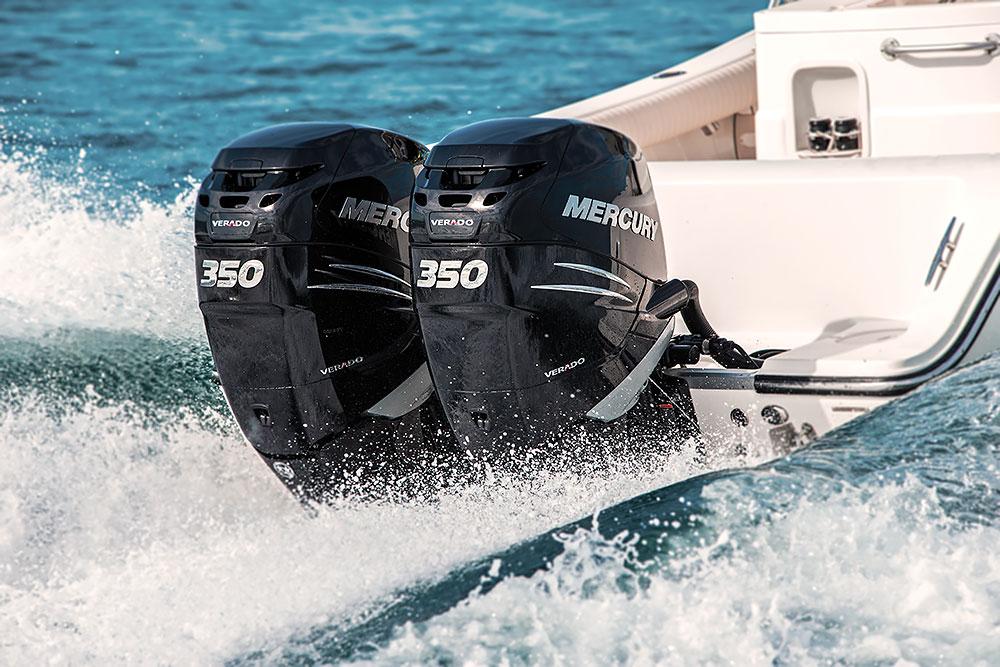 Mercury propel til båd