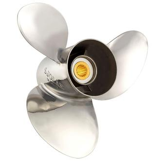 SOLAS [Kit] Mercury MC Rustfri 10.75 x 16 (10 3/4 x 16) - 3 Bladet-0