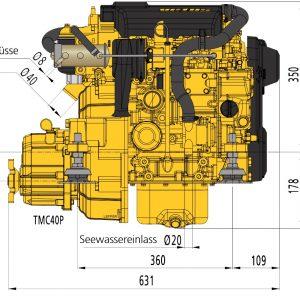Technodrive TMC40P 2,6:1 (Mekanisk gear)-0
