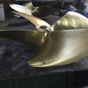 Reparation af propeller